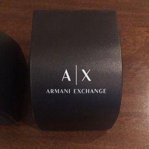 Armani exchange watch box
